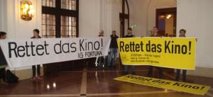 Rathaus-Banner