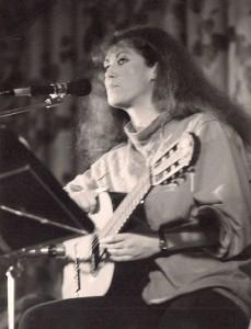 Barbara Thalheim am 17.02.1986 im Kino der Jugend